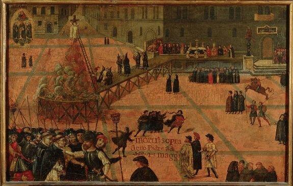 казнь Савонаролы