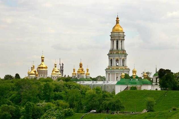 Киево-Печерская лавра. Современный вид