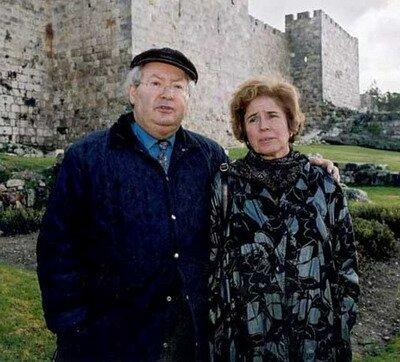 Серж Кларсфельд и его жена Беата