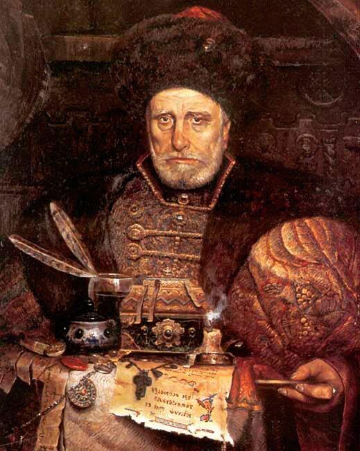Князь Курбский. Худ. П. Рыженко