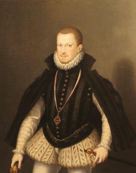Король Португалии Себастьян I. Худ. А. Коэльо, 1575 г., Музей истории искусств, Вена, Австрия