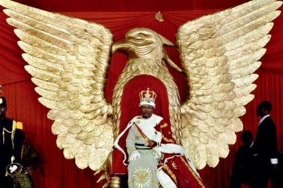Коронация Бокассы, 1976 г.
