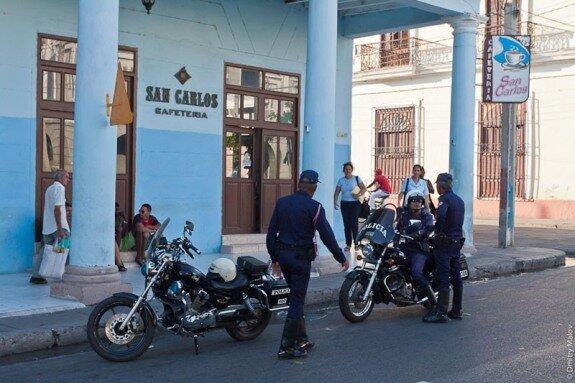 Полиция на Кубе. Источник: Travel.Ru