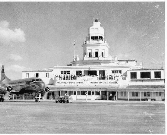 Гаванский аэропорт. Фото: 1950-е гг.