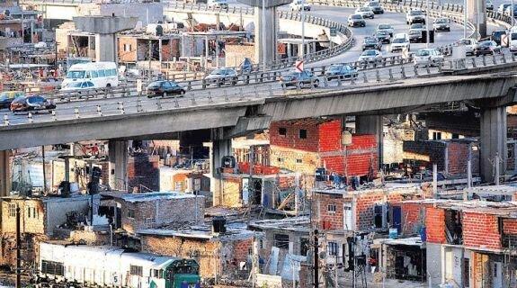 Кварталы бедноты в аргентинской столице