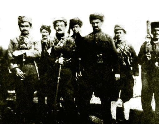 лидеры восстания Нури-паша