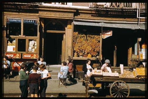 На Манхэттэне. Фото 40-х годов
