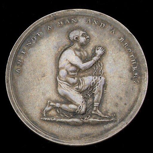 Медаль с лозунгом аболиционистов
