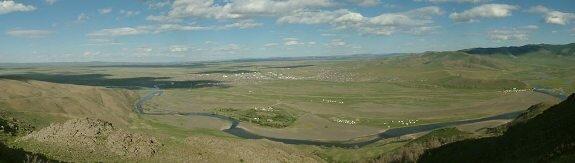 место, где располагался древний Каракорум