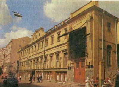 здание МХАТ