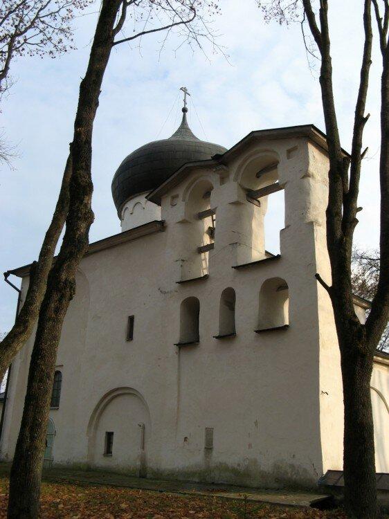церковь Спаса в Мирожском монастыре