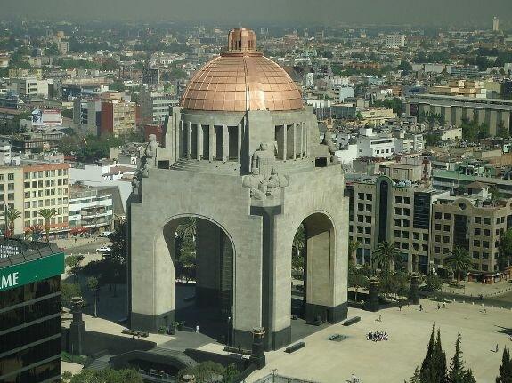 Памятник в честь 100-летия Мексиканской революции, Мехико