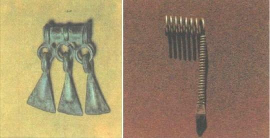 Мордовские женские украшения