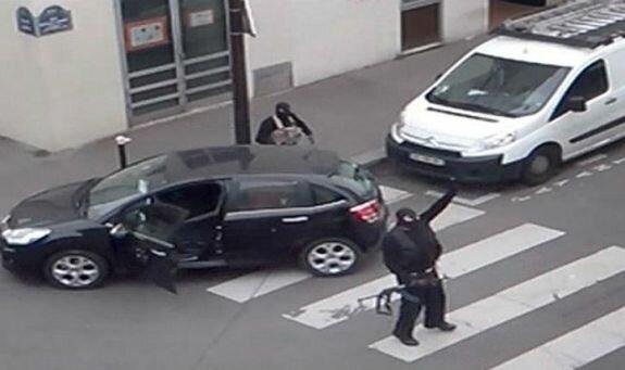 Нападавшие на Charlie Hebdo