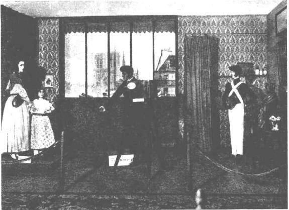 Образец раннего съемочного павильона