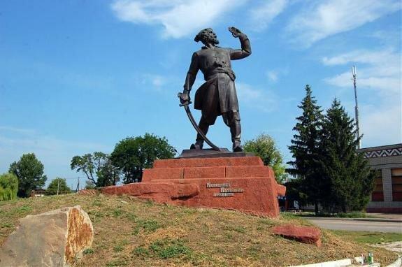 Памятник Кондратию Булавину