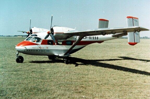 Первый Ан-14 «Пчелка». Фото: 1970-е гг.
