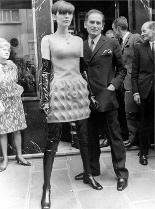 Пьер Карден. Фото 1968 г.