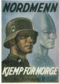Плакат на норвежском языке