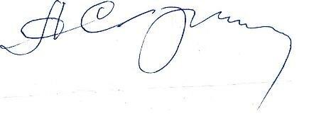 подпись Александра Скрипникова
