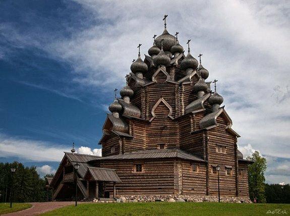 Покровская церковь села Анхимово. Вологодская область. 1708 г.