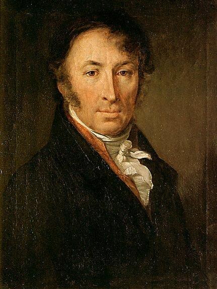 Портрет Н. М. Карамзина. Худ. В. Тропинин, 1818г., Третьяковская галерея, Москва