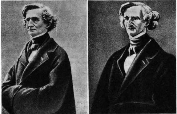 портрет и дагерротип Берлиоза