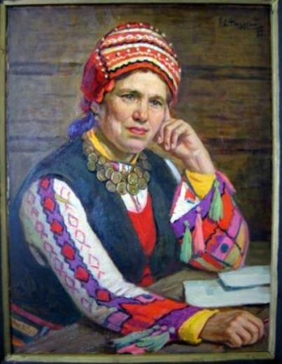 портрет Люлякиной