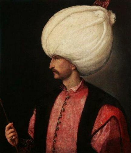 Худ. Тициан. Портрет Сулеймана Великолепного