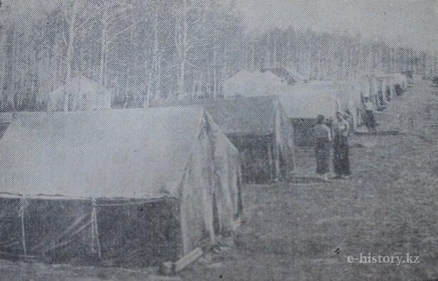 поселок посланцев из Москвы
