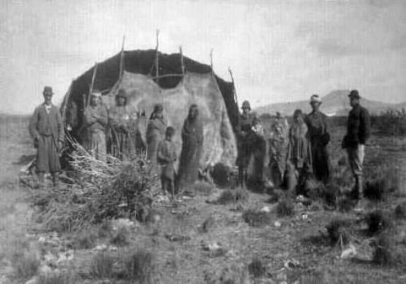 Представители народа арауканов. Фото: конец XIX в.