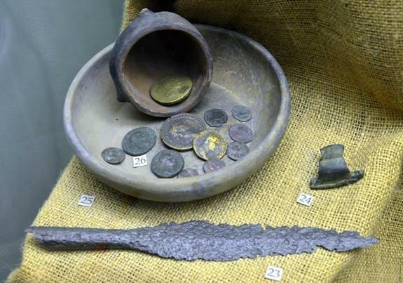 Предметы Пшеворской археологической культуры