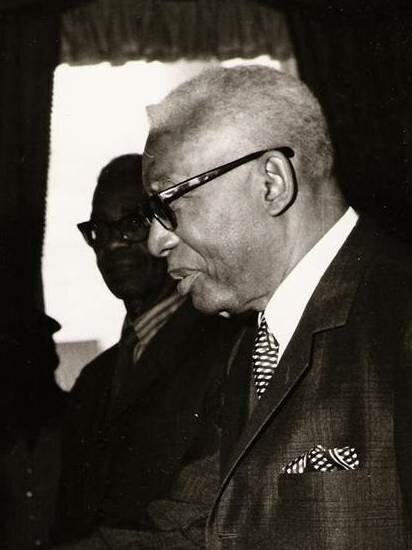 Президент Гаити Франсуа Дювалье. Фото: 1968 г.