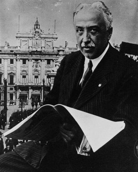 Президет Самора в 1931 г.