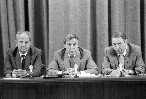 Пресс-конференция ГКЧП 19 августа 1991 г.