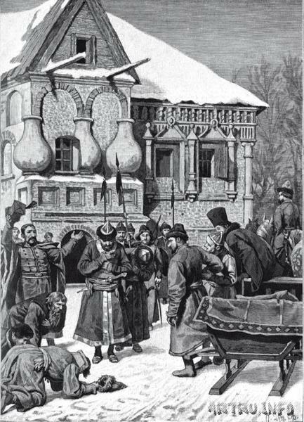 прибытие Тушинского вора в Калугу