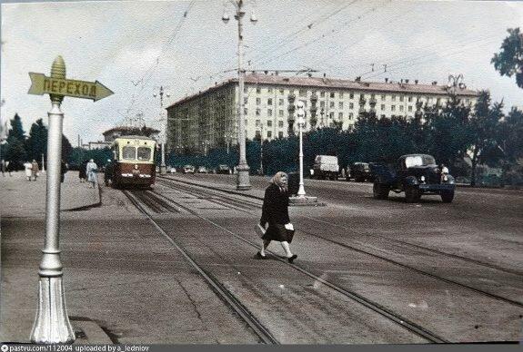 Проспект Мира в Москве. Фото 1962 г.