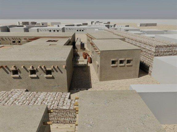 Реконструкция древнеегипетских жилищ