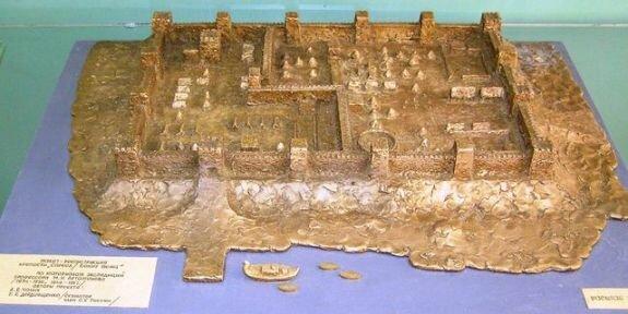 Реконструкция крепости Саркел (Белая Вежа)