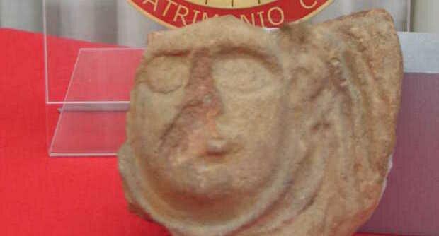 Возвращенная реликвия из развалин Помпеи
