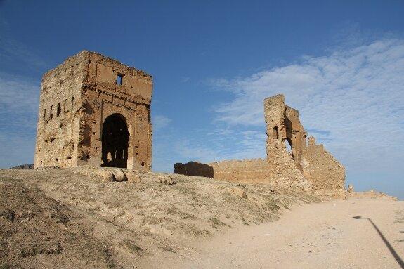 Руины гробницы Маринидов. Фес, Марокко