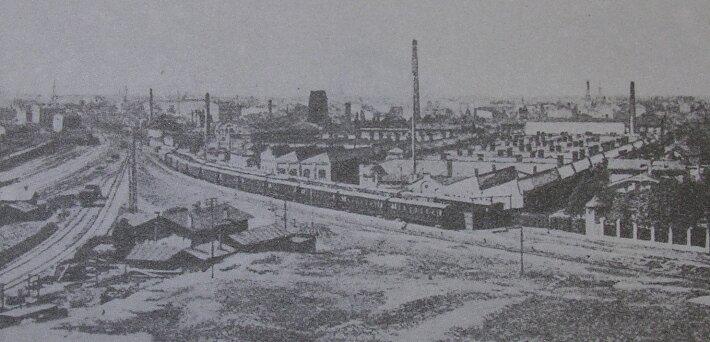 Русско-Балтийский вагонный завод (РБВЗ) в Риге. 1909 г.