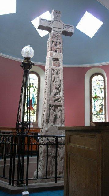 Рутвелский крест. Шотландия. Великобритания