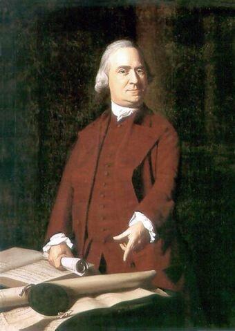 Самюэль Адамс. Портрет худ. Д. Копли, 1772 г. Музей изящных искусств Бостон