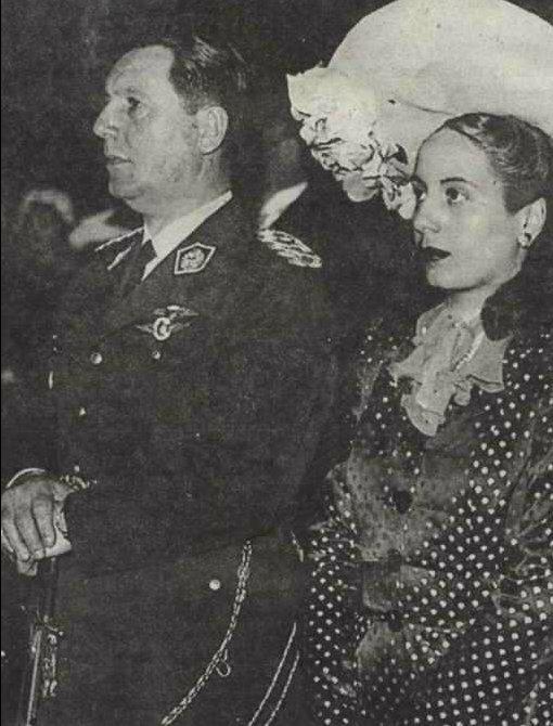 Эвита и Перон