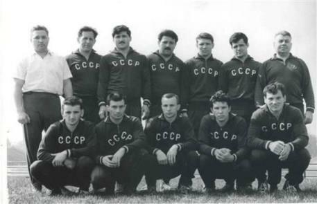 Сборная команда СССР по дзюдо на Олимпиаде в Токио. 1964 г.