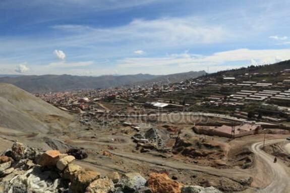 Серебряные рудники близ Потоси, Боливия. Наши дни