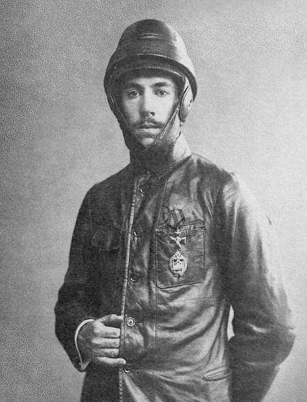 Игорь Сикорский, фотограф Карл Булла, 1914 год