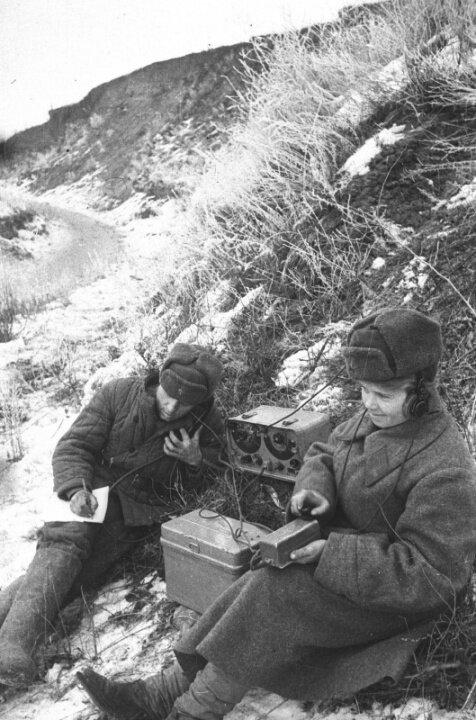 советские радисты