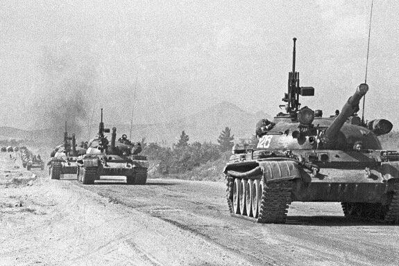 Советские танки в Афганистане, 1980 г.